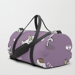 Sweet Frenchie Bulldog Puppies Pattern Duffle Bag
