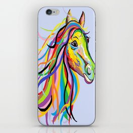 Horse of a Different Color iPhone Skin