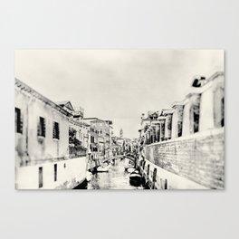 Venice - Study 101 Canvas Print