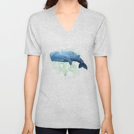Power swimmer of the oceans Unisex V-Neck