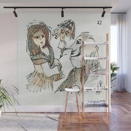Los Caprichos ~ 27 ~ Who Surrendered Wall Mural