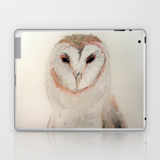 Owl in the fog Laptop & iPad Skin