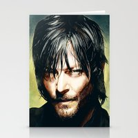 daryl Stationery Cards featuring Daryl Dixon by p1xer