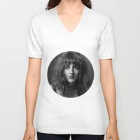 metropolis V-neck T-shirts featuring Metropolis by josemanuelerre