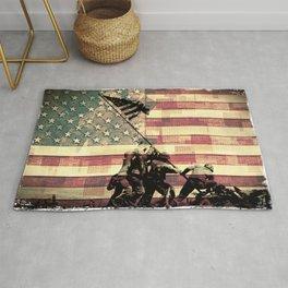 United Iwo Jima Rug