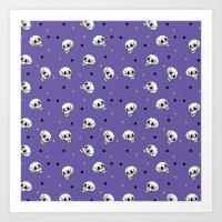 Lots of Skulls Art Print