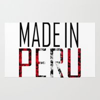 peru Area & Throw Rugs featuring Made In Peru by VirgoSpice