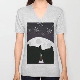 Moon Dreams Unisex V-Neck