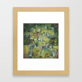 Paul Klee God of the Northern Forest Framed Art Print