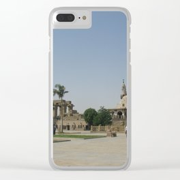 Temple of Luxor, no. 8 Clear iPhone Case