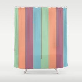 Invigorating Stripes Shower Curtain