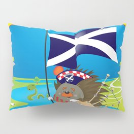 Greetings from Scotland Pillow Sham