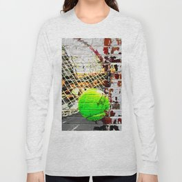 Tennis Art Long Sleeve T-shirt