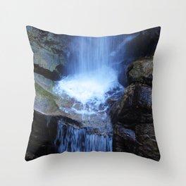 Fonias River Samothrace Greece Throw Pillow
