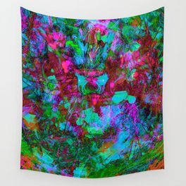 Yawn (Calm Moan) Wall Tapestry
