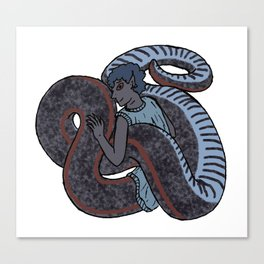 Sharp-tailed Snake-Boy Canvas Print