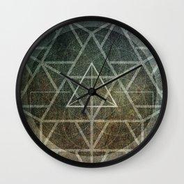 Tetrahedron Ignis Wall Clock