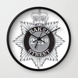 Baker Street Regulars Wall Clock