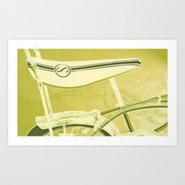 Stingray - Transportation Series Art Print
