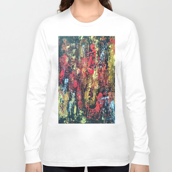 Abstract painting 103 Long Sleeve T-shirt