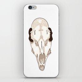 Skull of roe deer iPhone Skin