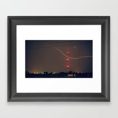 The Claw Framed Art Print