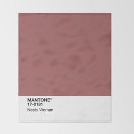 MANTONE® Nasty Woman Throw Blanket