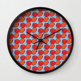 Brazil fruits - acerolas & pitangas Wall Clock