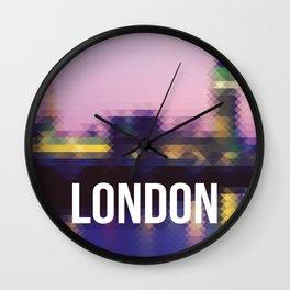 London - Cityscape Wall Clock