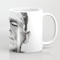 frankenstein Mugs featuring Frankenstein by calibos