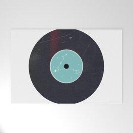 Vinyl Record Star Sign Art   Pisces Welcome Mat