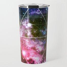 Rainbow Galaxy Sacred Geometry : Golden Rectangles Travel Mug