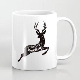 Friday Feeling Jump Coffee Mug