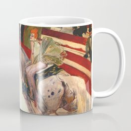 "Henri de Toulouse-Lautrec ""Equestrienne (At the Cirque Fernando)"" Coffee Mug"