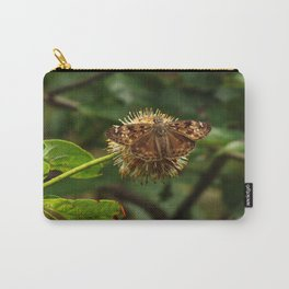 Moth on a Puffball Carry-All Pouch