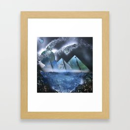 A Mess of Time Framed Art Print