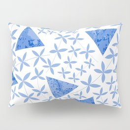 Shapes in Nature : Blue Pillow Sham
