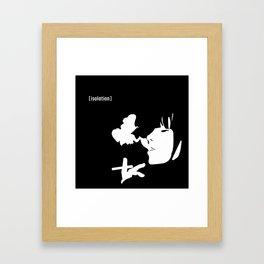 [isolation] Framed Art Print