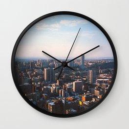 Top of Johannesburg Wall Clock