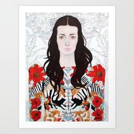 Angelene Art Print