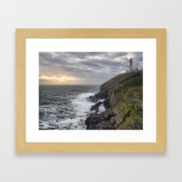South Stack light house Framed Art Print