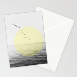 Birds Migrating Stationery Cards