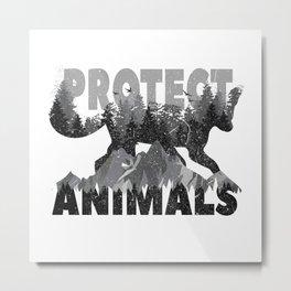 Animal Welfare For Fox And Nature Metal Print