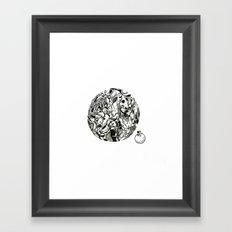 Soulmate Framed Art Print