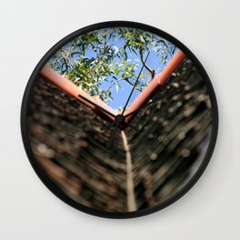 Roof Wall Clock