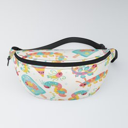 Jelly Polychaete worm Fanny Pack