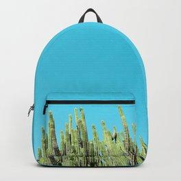 Desert Cactus Reaching for the Blue Sky Backpack