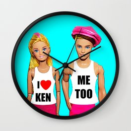 I Love Ken! Wall Clock
