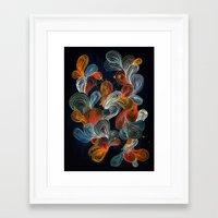 friday night lights Framed Art Prints featuring Friday Night by Marcelo Romero