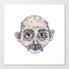 old man 4 Canvas Print